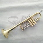 C key Gold Silver Trumpet